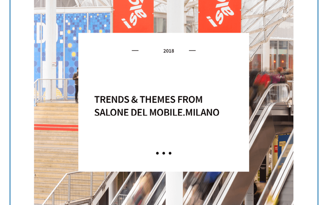 Trends & Themes from Salone del Mobile.Milano