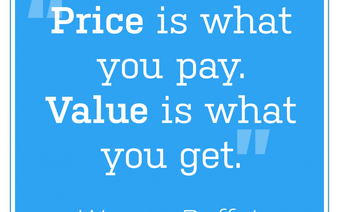 Selling value over price