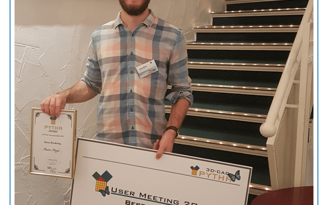 Brisbane designer rendered a winner at PYTHA User Meeting