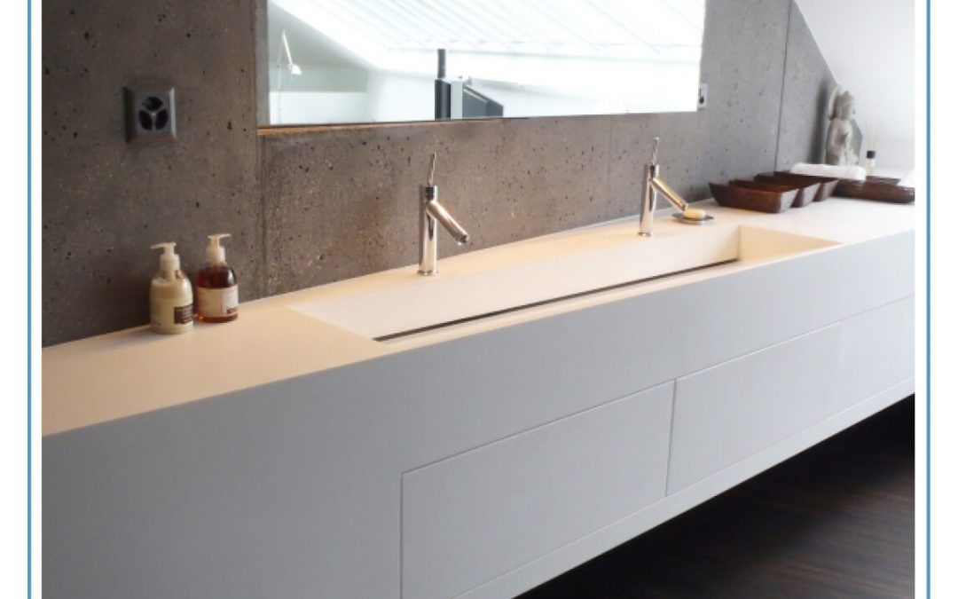 Beautiful bathroom spaces with easy maintenance