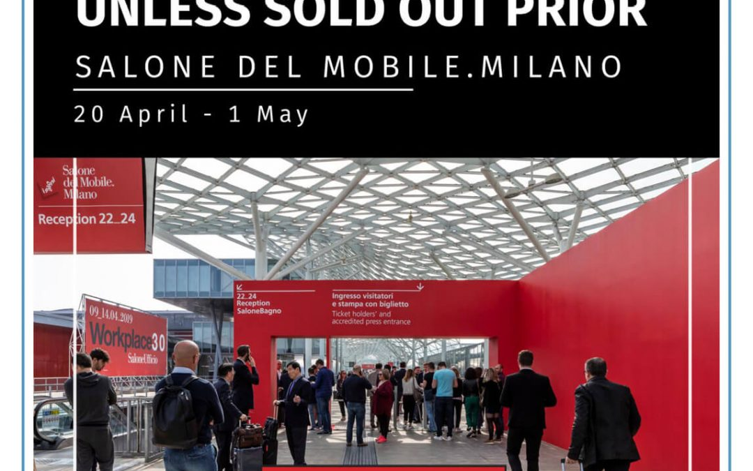 AIDT 2020 International Tour to Milan CLOSES 31st October – last chance to book!