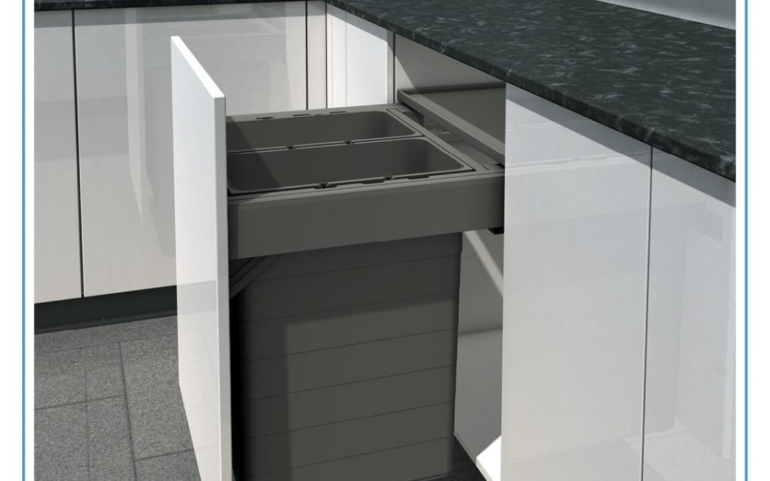 Simple and stylish waste separation for modern kitchens