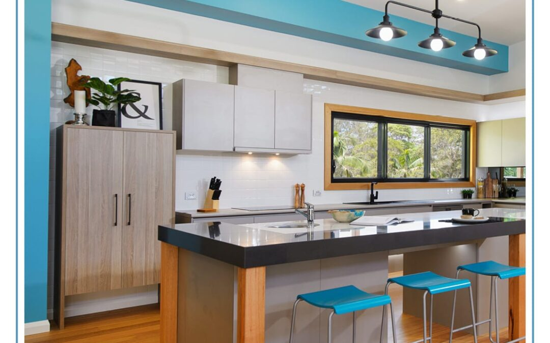 Designing kitchens with colour