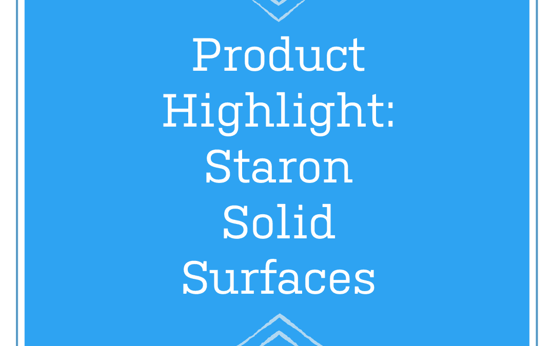 Features and benefits of solid surfaces