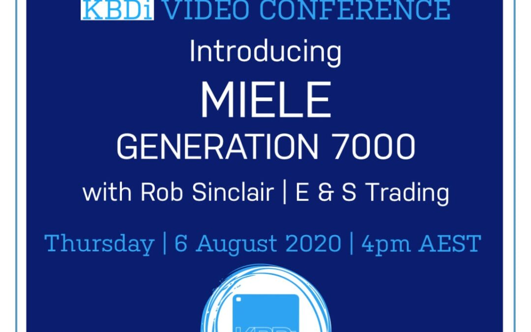PD Thursday | Introducing ALL-NEW Miele Generation 7000