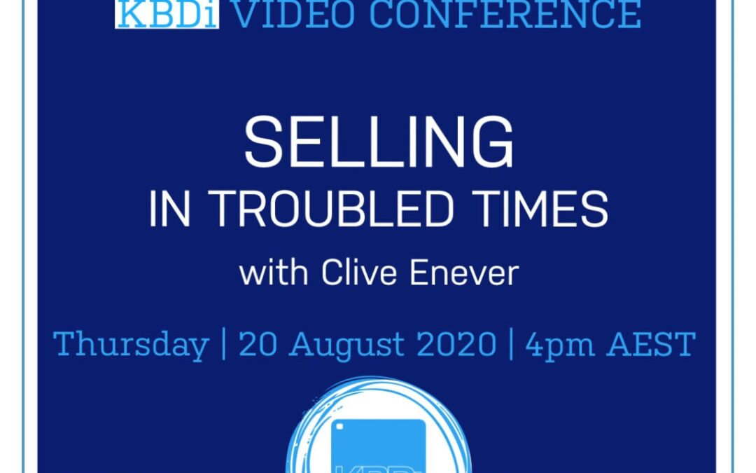 PD Thursday | Selling in Troubled Times