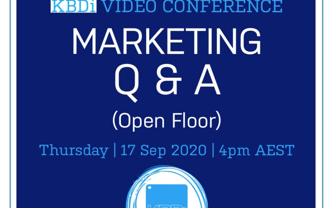 PD Thursday | Marketing Q & A