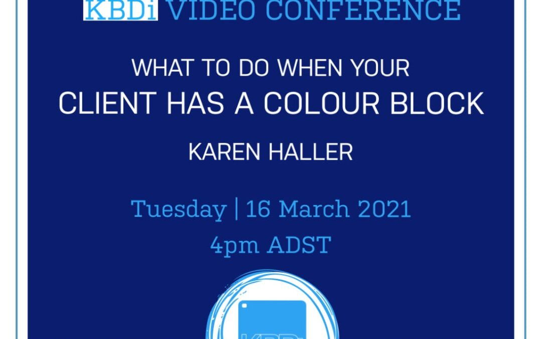 PD Tuesday | A colour conversation – what to do when your client has a colour block