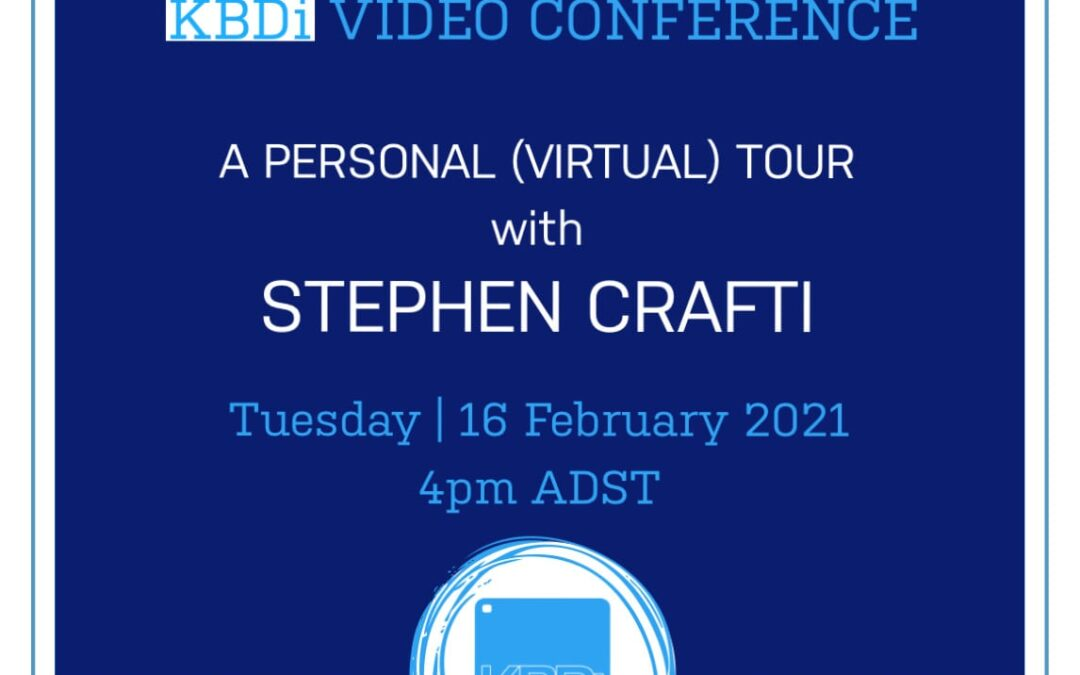 PD Tuesday | A personal (virtual) tour with Stephen Crafti