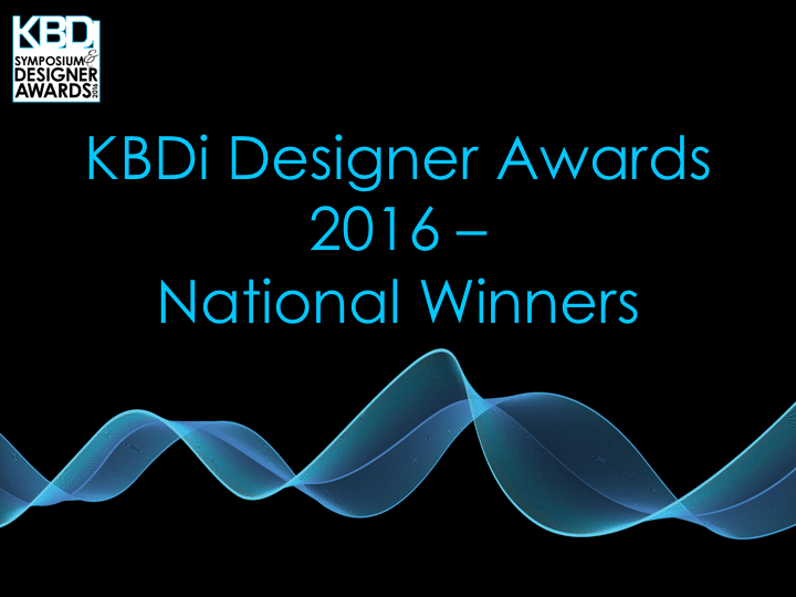KBDi Designer Awards 2016