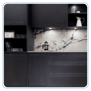 Endless options with ultra cool splashback