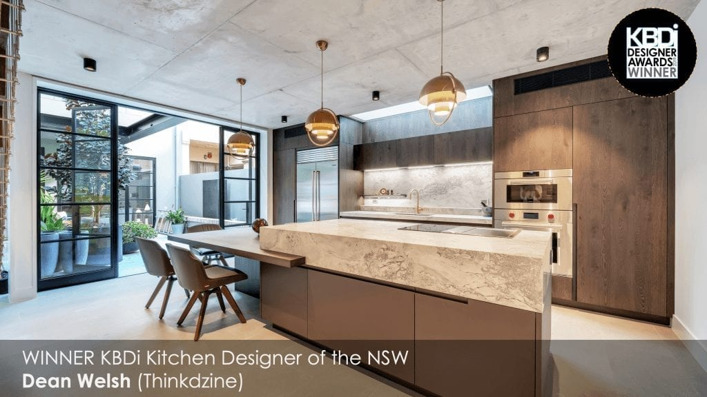 KBDi Dean Welsh Kitchen Designer of the Year NSW 2019