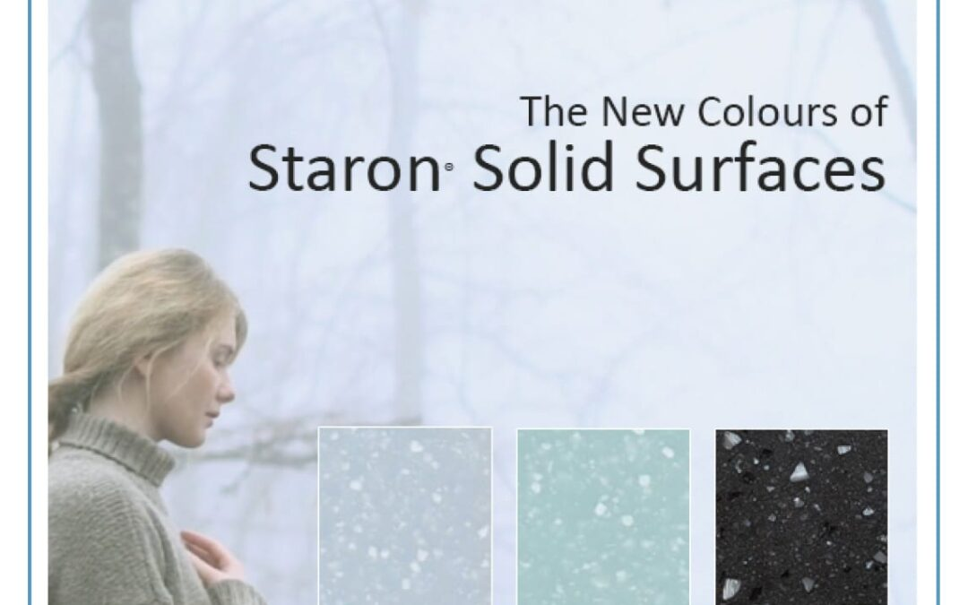Introducing the new colours of Staron Solid Surfaces 2020