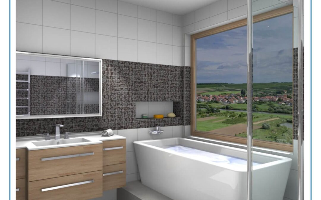 Bathroom Visualisation with Innoplus from Compusoft