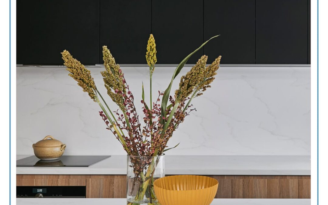 Beauty of natural stone with performance benefits of solid surface