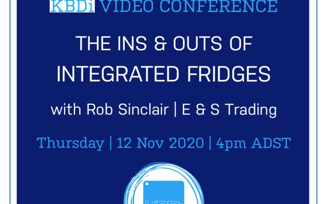 PD Thursday   The ins & outs of integrated fridges