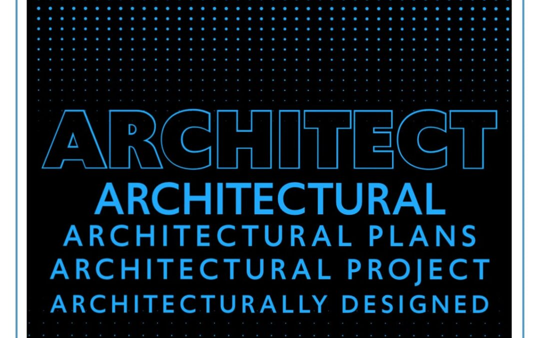 Using architectural terms and references in your marketing