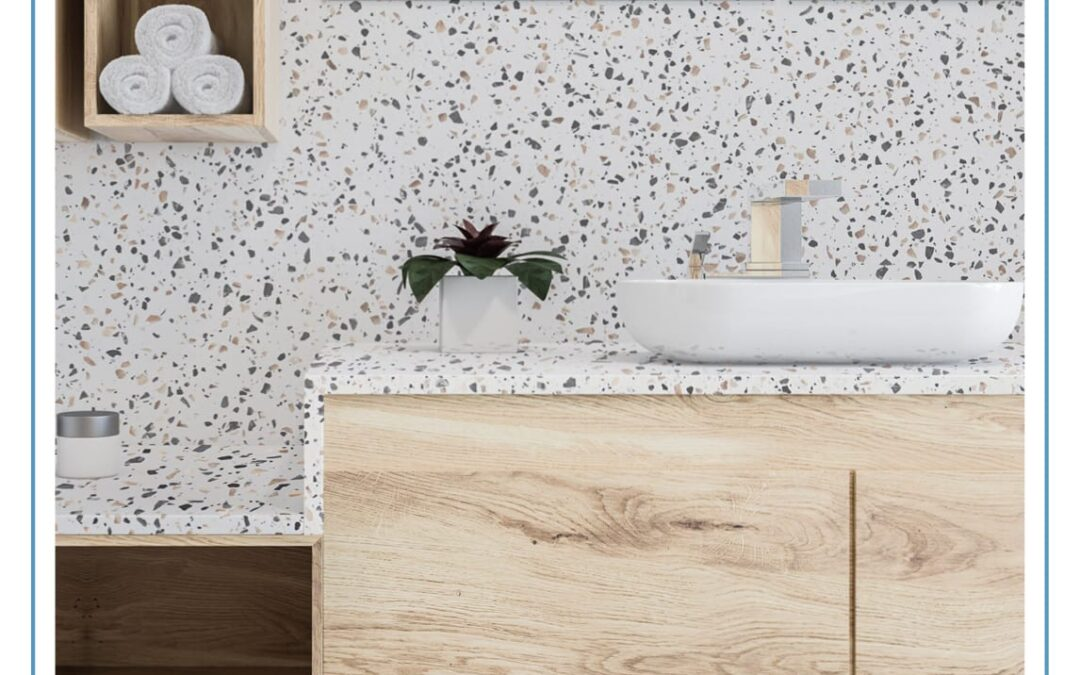 Transform your interiors with Terrazzo by Staron® Solid Surfaces