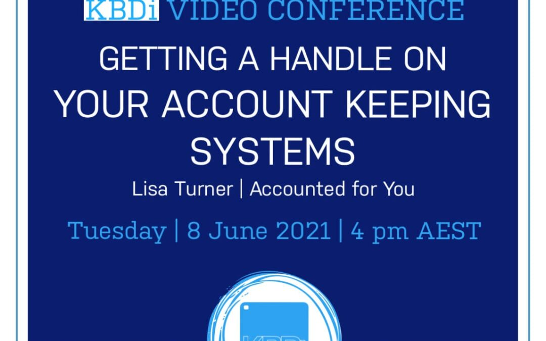 PD Tuesday   Getting a handle on your account keeping systems