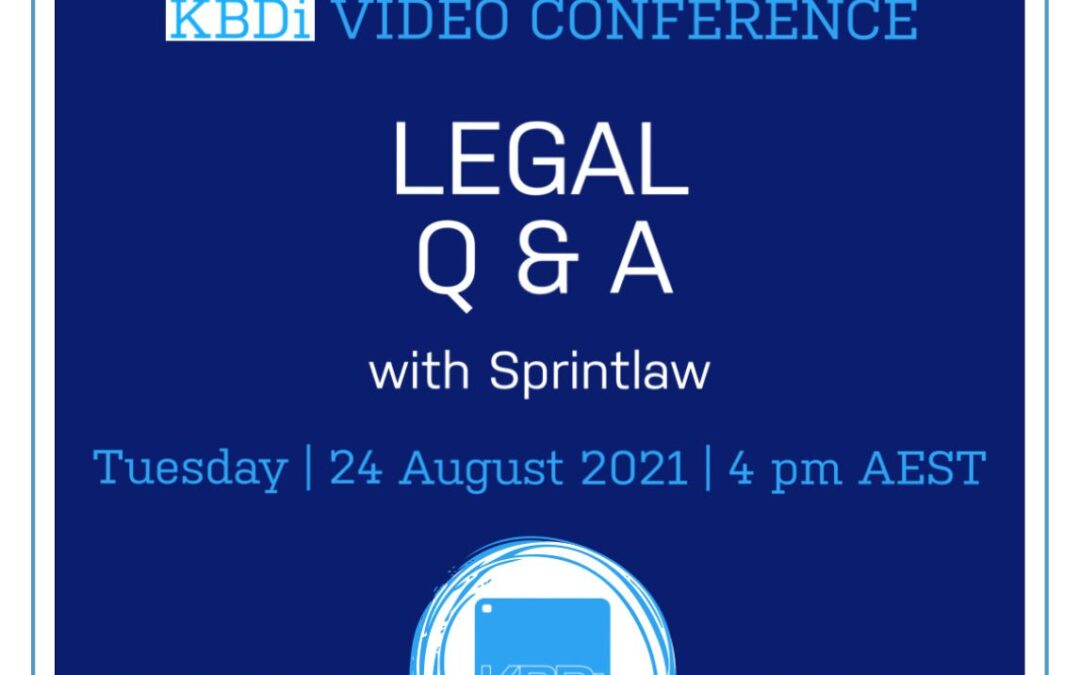 Legal Q and A with Sprintlaw