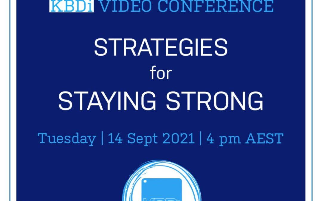 Strategies for staying strong